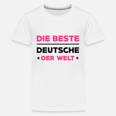 Deutsche National Deutscher Deutsche Deutsch Patriot Deutschland - Teenager Premium T-Shirt