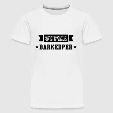 Barkeeper Barmaid Bartender Barman Barmann Bar - Teenager Premium T-Shirt