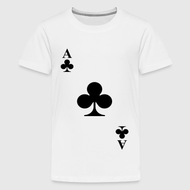 Ace of clubs - Teenage Premium T-Shirt