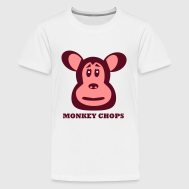 Monkey Chops - Teenage Premium T-Shirt