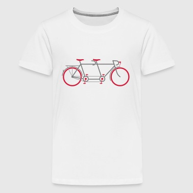 Tandem Bike - Teenager Premium T-shirt