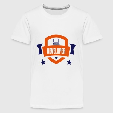 Developer - Camiseta premium adolescente