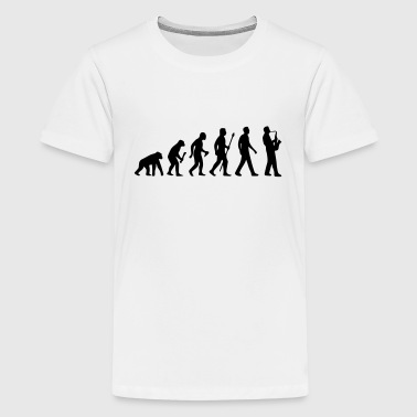 JAZZ THEORY OF EVOLUTION SHIRT! - Teenage Premium T-Shirt