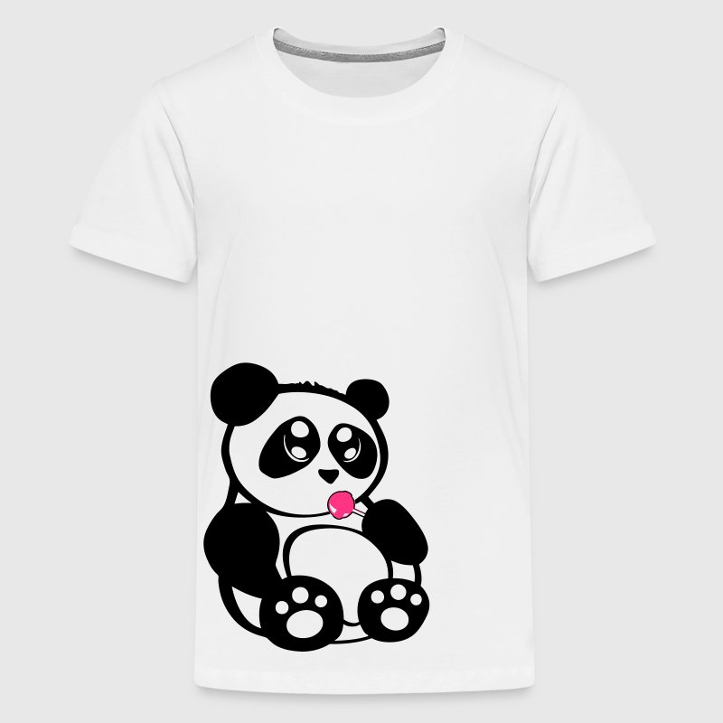 Baby Panda - Teenager Premium T-Shirt
