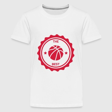Basketball - Basket ball - Basket-ball - Baskette - Camiseta premium adolescente