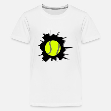 Tennis Tennis - Teenager Premium T-Shirt