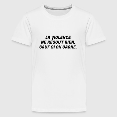 Humour - Drôle - Blague - Rire - Fun - Cool  - T-shirt Premium Ado