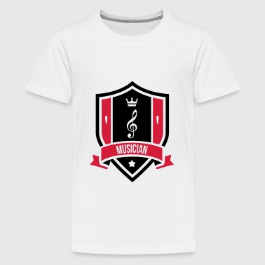 Musician - Teenage Premium T-Shirt
