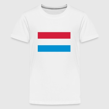 Nationalflagge von Holland - Teenager Premium T-Shirt
