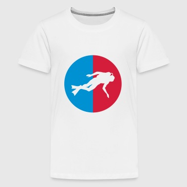 Diving - Teenager Premium T-Shirt