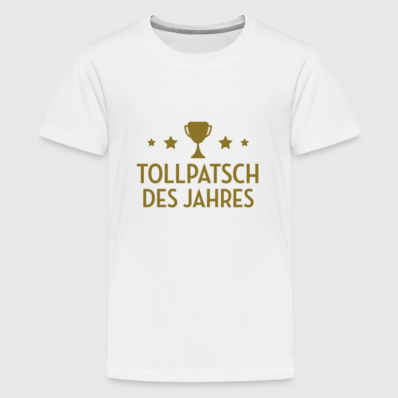 Tollpatsch Tollpatscherin Trampel Ungeschickte - Teenager Premium T-Shirt