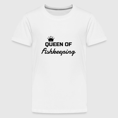 Fishkeeping Fish Aquaristik Aquarium Aquariophilie - Teenage Premium T-Shirt