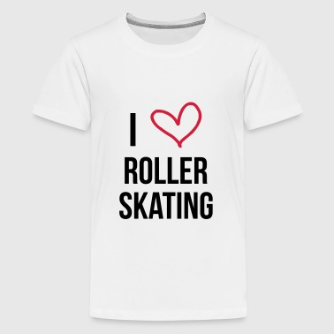 Roller Skating / Skater / Sport - Teenage Premium T-Shirt