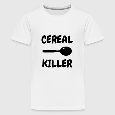 Cereal Killer - Humor - Funny - Joke - Friend - Teenage Premium T-Shirt