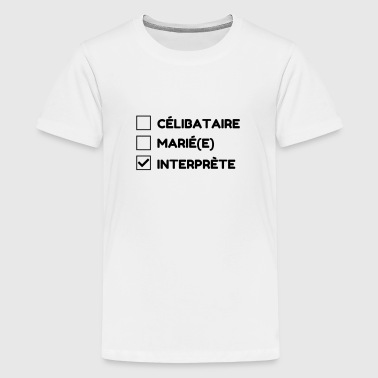 interprète / traducteur / traduction / Métier / Job - T-shirt Premium Ado