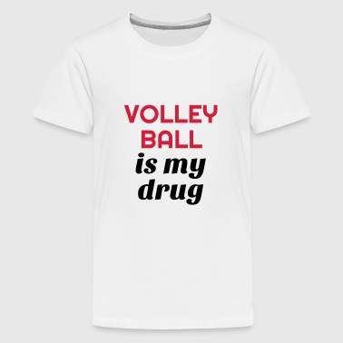 Volleyball - Volley Ball - Volley-Ball - Sport - Teenager Premium T-shirt