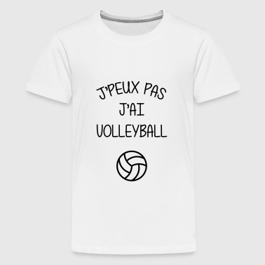 Volleyball / Volleyeur / Volley / Volley-ball - T-shirt Premium Ado