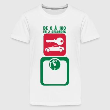 tday2015 cle voiture balance pese person - T-shirt Premium Ado
