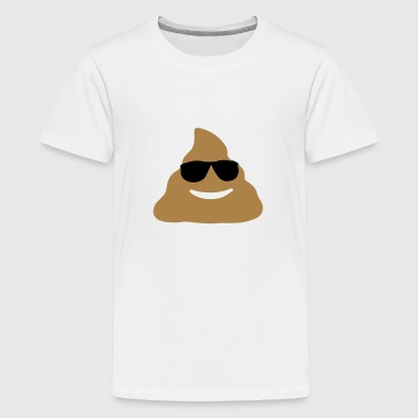Shit, Emoji - Teenage Premium T-Shirt