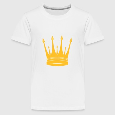 kroon / koning / Crown / King - Teenager Premium T-shirt