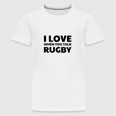 Rugby / Rugbyman / Sport / Fighter / Fight - T-shirt Premium Ado