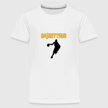Basketteur - T-shirt Premium Ado