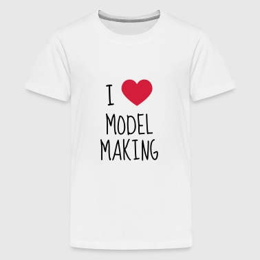Model Maker Building Modell Modélisme Modéliste - Teenage Premium T-Shirt