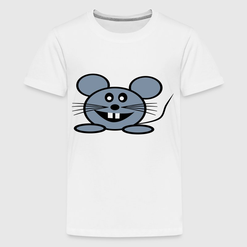 Coole Maus - Teenager Premium T-Shirt