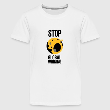 Stop Global overdrijving - Teenager Premium T-shirt
