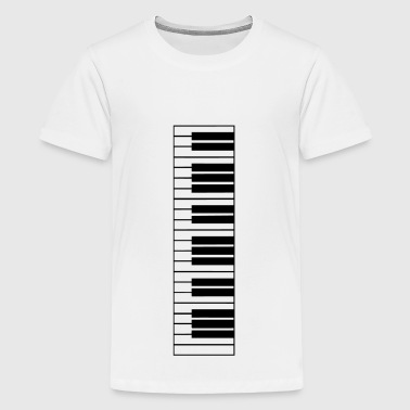 piano, piano keyboard - Teenager Premium T-shirt