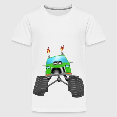 Monster Truck - T-shirt Premium Ado