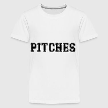 pitches - Teenage Premium T-Shirt
