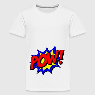 pow superheld - Teenager Premium T-shirt