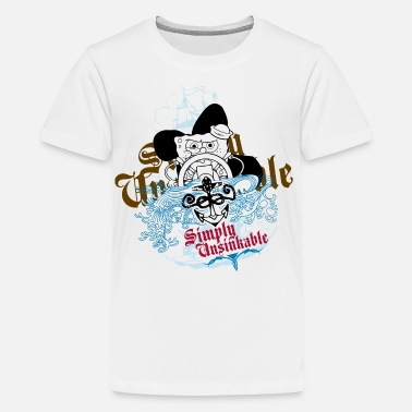 Teenagers' Premium Shirt SpongeBob 'Simply Unsinka - Teenager premium T-shirt