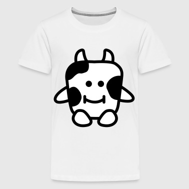 Moody Cow - Teenage Premium T-Shirt