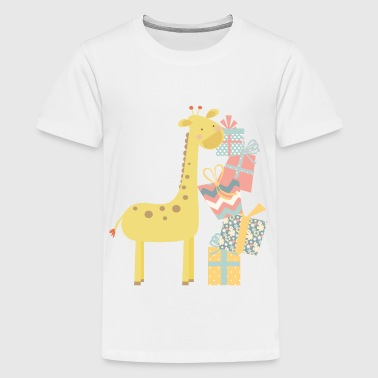 Giraffe - Teenager Premium T-Shirt