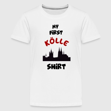COLOGNE KÖLLE KÖLSCH COLONIA COLLECTION ENFANTS - T-shirt Premium Ado
