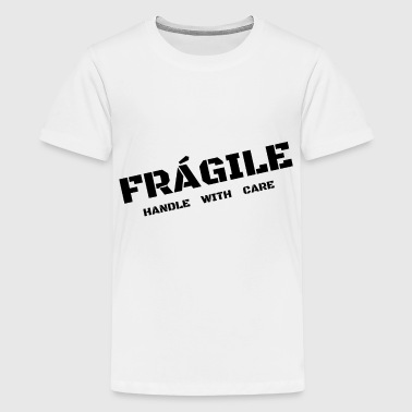 FRÁGILE - Teenager Premium T-Shirt