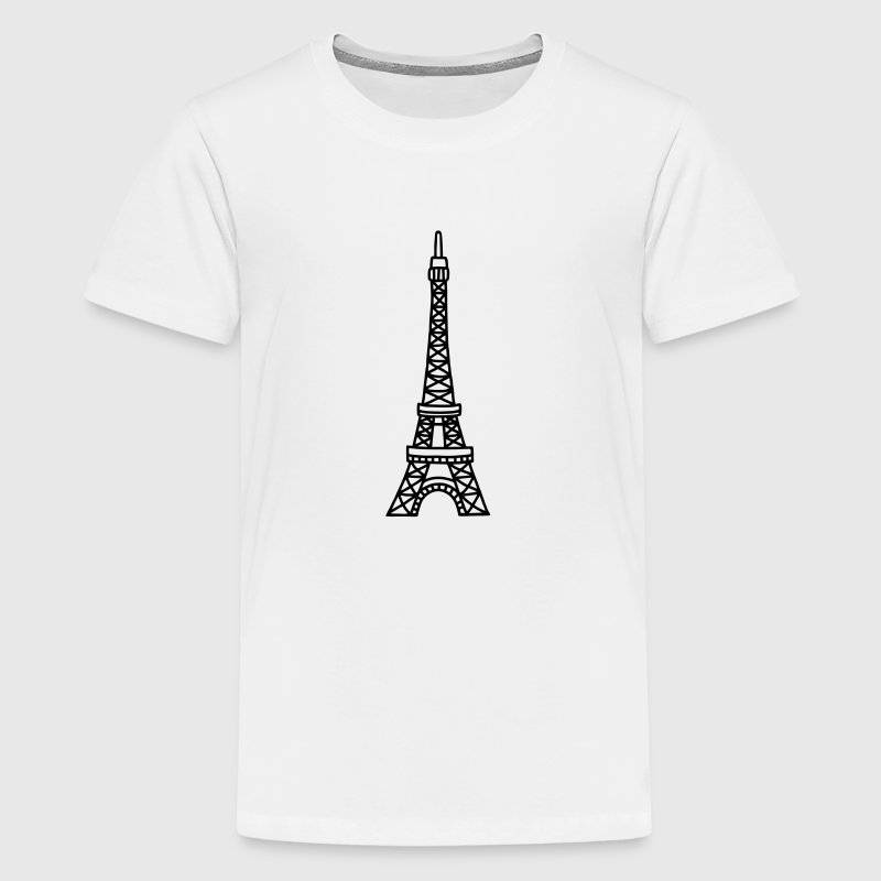Eiffeltoren - Parijs - Teenager Premium T-shirt