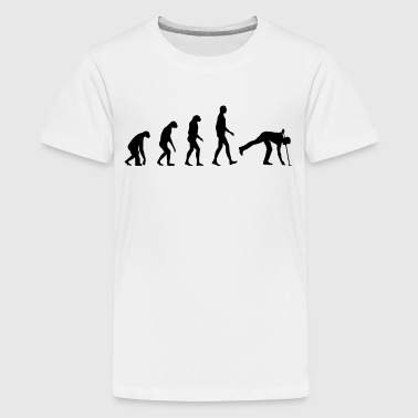 Evolution golf - Premium-T-shirt tonåring