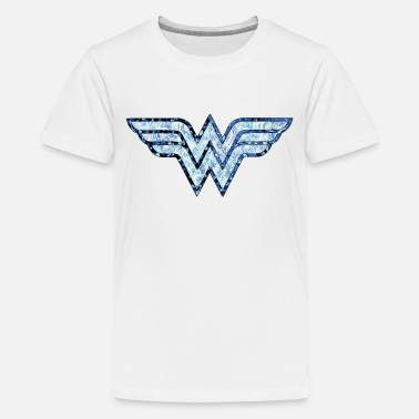 Woman DC Comics Wonder Woman Logo Ornamente - Teenager Premium T-Shirt