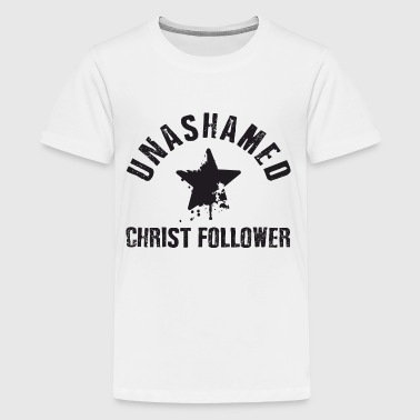 Unashamed Christ Follower - Teinien premium t-paita