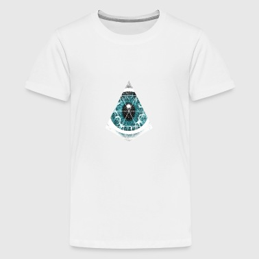 triangle eye - Teenage Premium T-Shirt