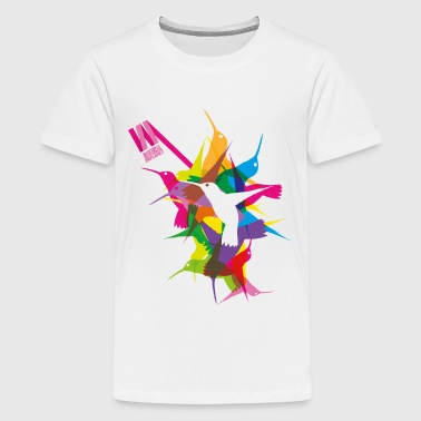 Animal Planet Hummingbird - Teenage Premium T-Shirt