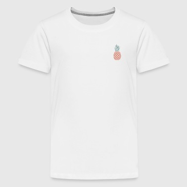 Pineapple pineapple - Teenage Premium T-Shirt