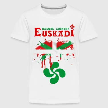 euskadi pays basque 09 - Teenage Premium T-Shirt
