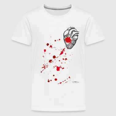 Bloody Heart - T-shirt Premium Ado