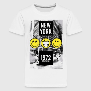 SmileyWorld 'New York 1972' - T-shirt Premium Ado