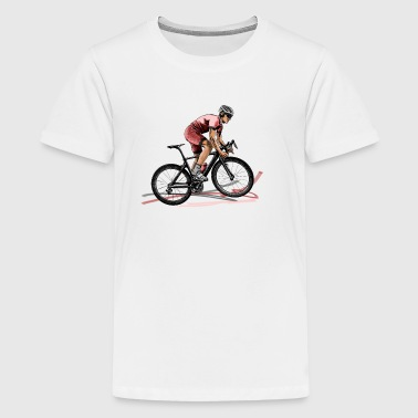 racing bicycle - Teenage Premium T-Shirt