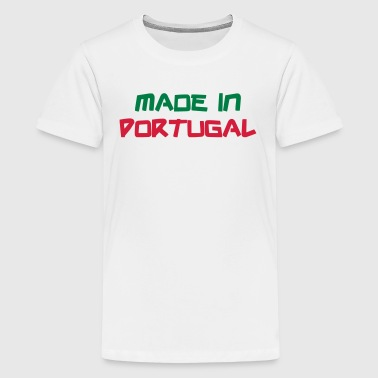 Made in Portugal - Teenage Premium T-Shirt